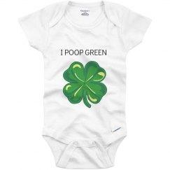 I poop green