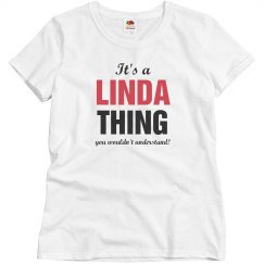 It's a Linda thing