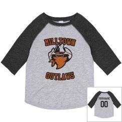 Toddler Raglan Baseball T