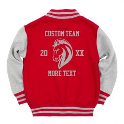 Youth Mascot Custom Team Jacket