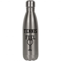 Tennis Fuel Wine bottle