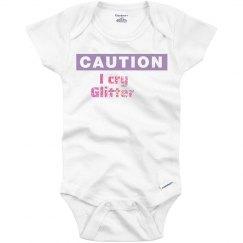 Caution: i cry glitter