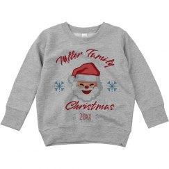 Custom Family Christmas Toddler Sweatshirt
