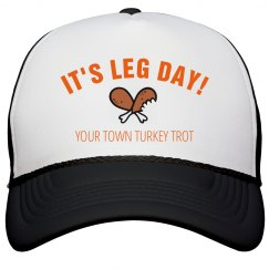 Turkey Trot Leg Day Design
