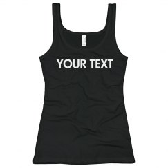 Your Text On Black