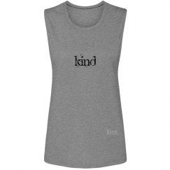 Kind in Translation ladies muscle tank