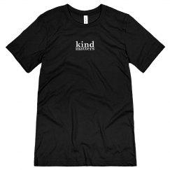 Kind Matters unisex/mens tee