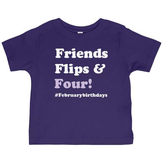 4th Birthday shirts