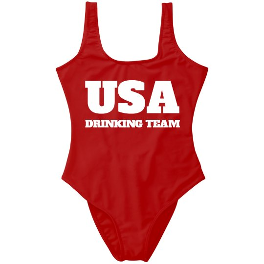 4th Of July USA Drinking Team