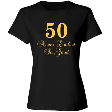 50 never looked so good