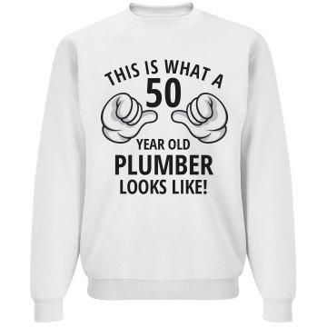 50 year old Plumber