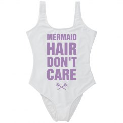 Mermaid Hair Spring Break Swimsuit