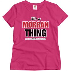 It's a Morgan Thing