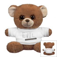 Evil Small Oogles Brown Bear