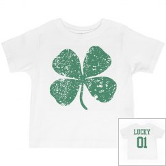 Vintage Shamrock Kid St Pattys