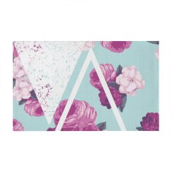 Trendy Floral Geometric Pattern