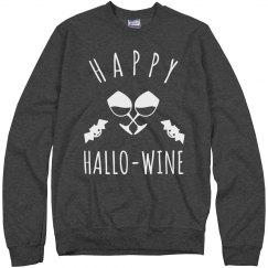 Happy Hallo-Wine Sweatshirt