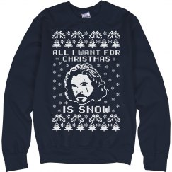 Stay Warm With Jon Snow This Winter
