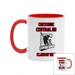 Cheyenne Central HS Reunion Mug