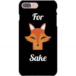 For Fox Sake Phone Case