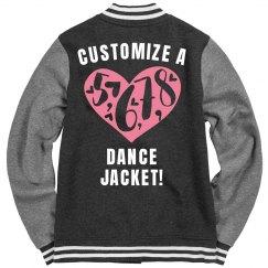 Customize A Dance Varsity Jacket