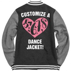 Customize A Dance Varsity Jacket
