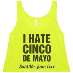 No Juan Ever Said