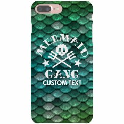 Mermaid Gang Custom iPhone Case