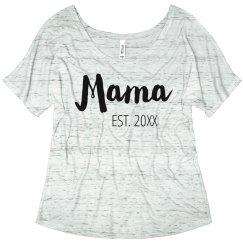 Mama Custom Established Year Gift
