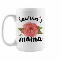 Custom Floral Mother's Day Mom Gift