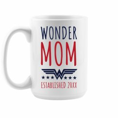 Wonder Mom Custom Mother's Day Gift