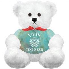 Custom Cute Plush Bear