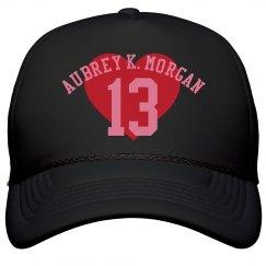 Aubrey K. Morgan Valentine Hat
