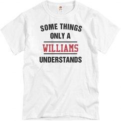 A williams understands
