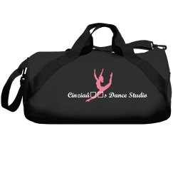 Cinzia's Dance Studio Black Dance Bag