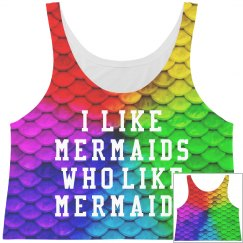 This Mermaid Likes Mermaids