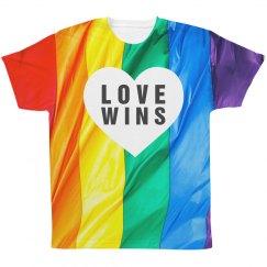 Love Wins Rainbow Flag