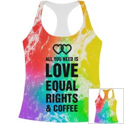 Love And Equal Rights Rainbows