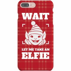 Let Me Take An Elfie Christmas Pun