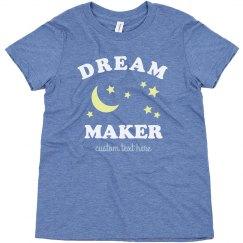 Dream Maker Trendy Girl's Tee
