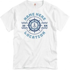 Personalized Cruise Group Shirts