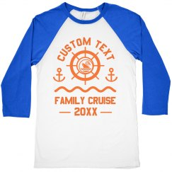 Custom Family Cruise Group Shirts