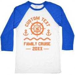 Custom Family Cruise Group Shirts