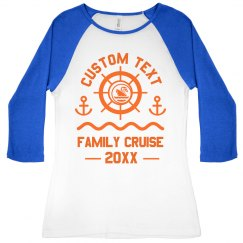 Family Cruise Custom Group Orders