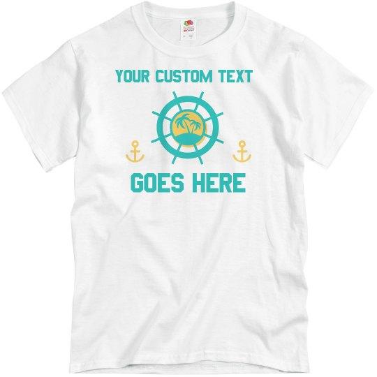 14f7b5cb2 Custom Family Cruise/Vacation Tees Unisex Basic Promo T-Shirt