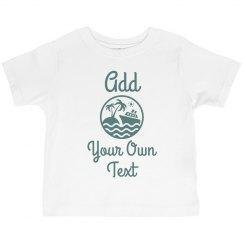 Custom Matching Cruise Tee Toddler