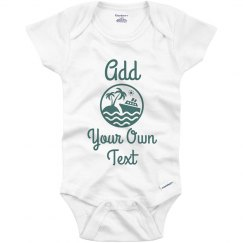 Custom Matching Cruise Onesie Baby