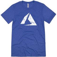Azure Logo Tee Vintage Royal