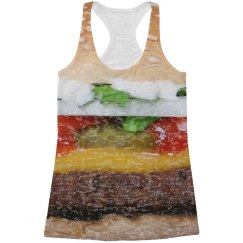 Burger Burnout All-Over Print Tank