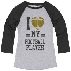 I (heart) my football player